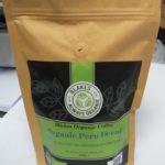 Close up image of Blakes Organic Peru Decaf coffee beans